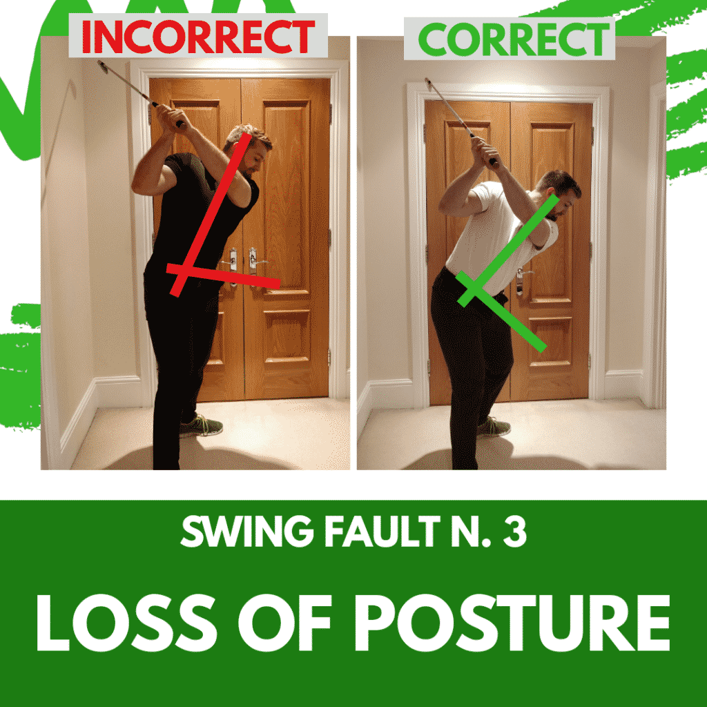 Swing Fault 3 - Loss of Posture