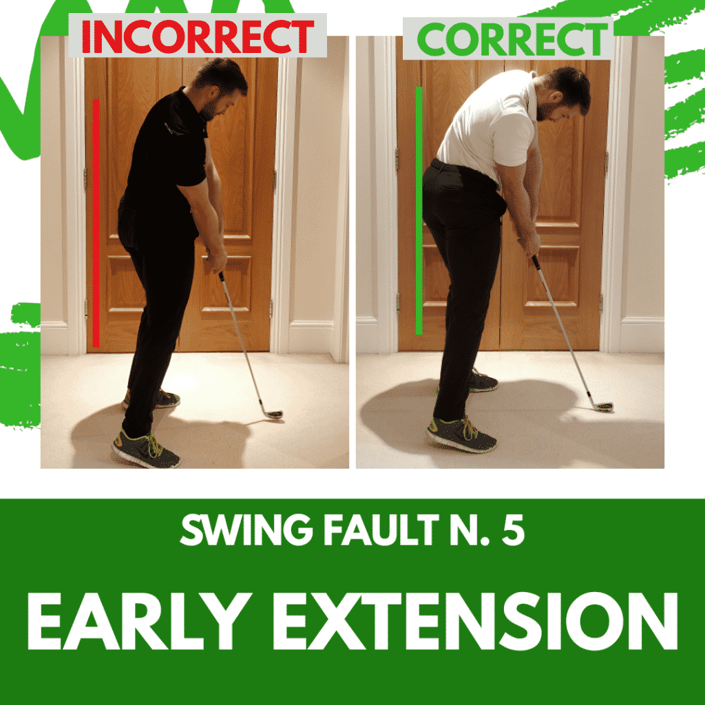 Swing Fault 5 - Early Extension