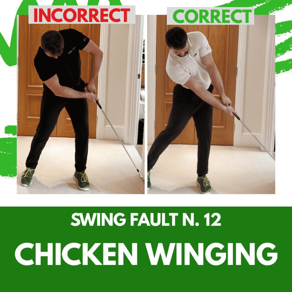 Swing Fault 12 - Chicken Winging