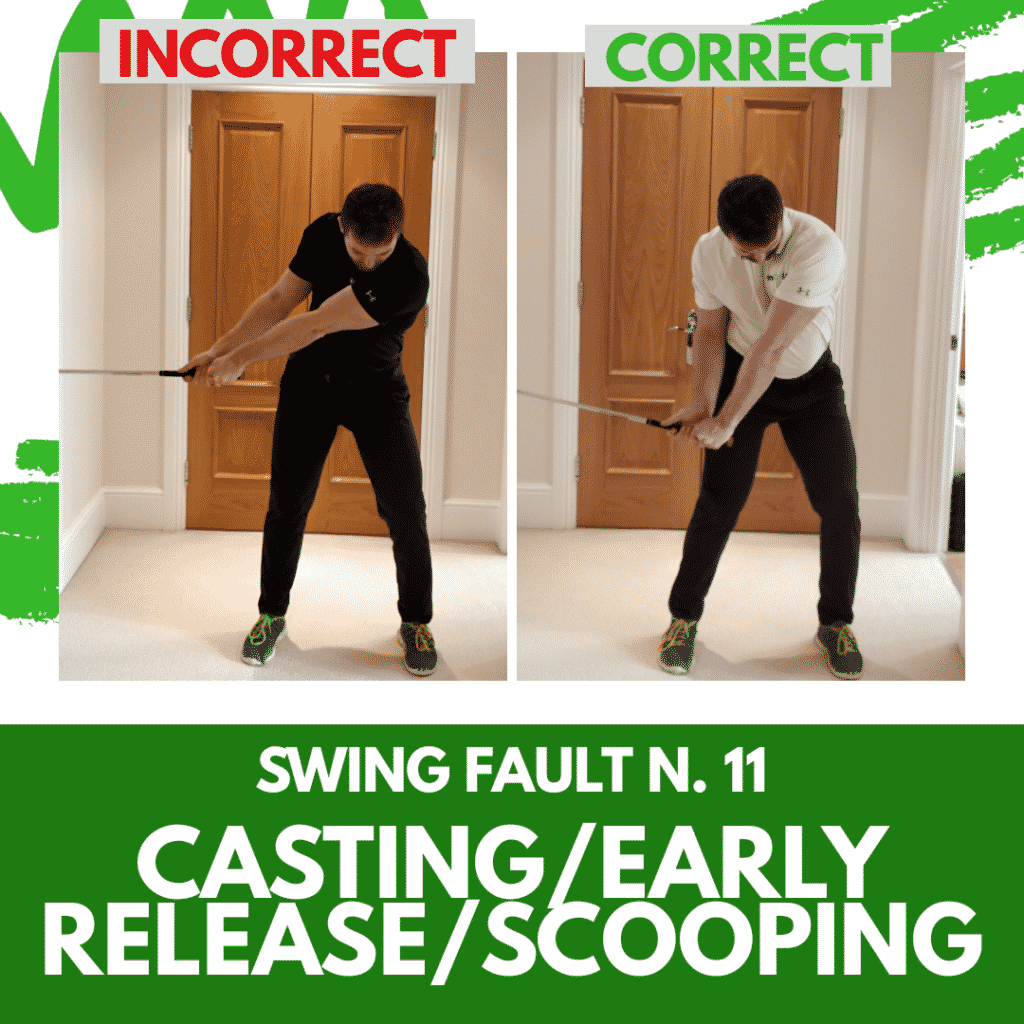 Swing fault 11 - Casting/Scooping/Early Release